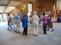 Thornbury - Circle Dance, Thornbury Baptist Church - 1