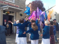 Open Air, Stroud - Dancing outside the Salvation Army Citadel, Stroud