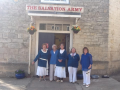 Outside the Salvation Army Citadel, Stroud