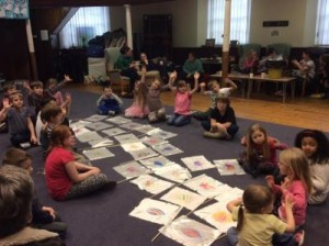 Childrens Flag Making 8